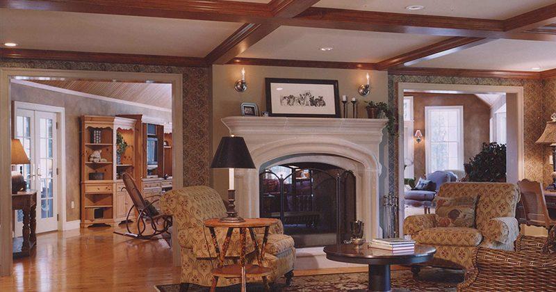 Weston, MA - Addition, Porch, Interiors
