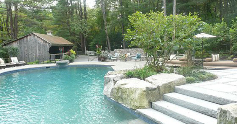 Sudbury House - Pool Area