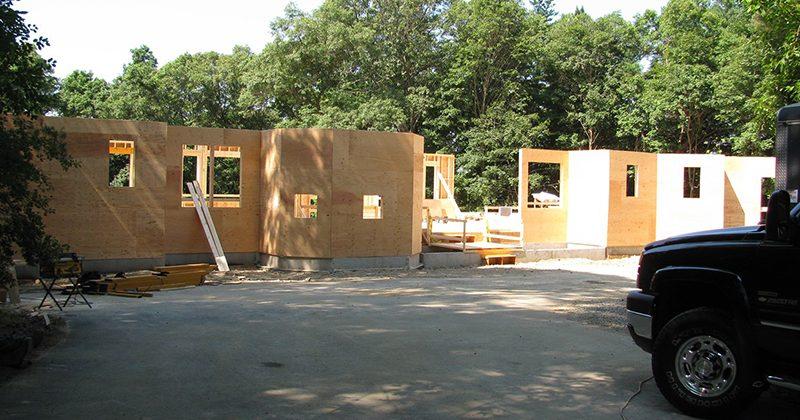 Newton House - Construction Progress