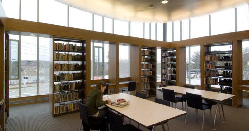 Needham Free Library, Needham, MA (In association with Ann Beha Architects)